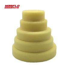 MARFLO éponge tampon de polissage double Action tampon éponge Buff tampon de polissage lourd moyen fin Grade 7