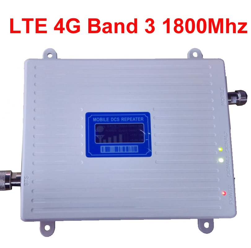 new 4G amplier BAND3 FDD LTE 4G booster 30dbm 65dbi LCD display DCS 1800mhz mobile FDD booster repea
