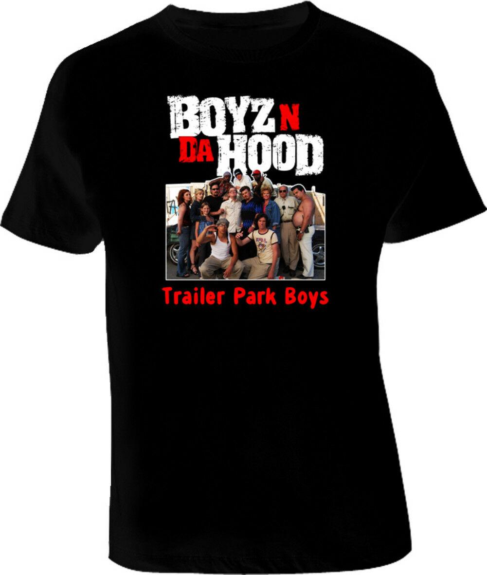 Boyz N Da Hood Trailer Park Boys T camisa Casual orgullo t camisa de los hombres de moda Unisex camiseta envío gratis divertido tops