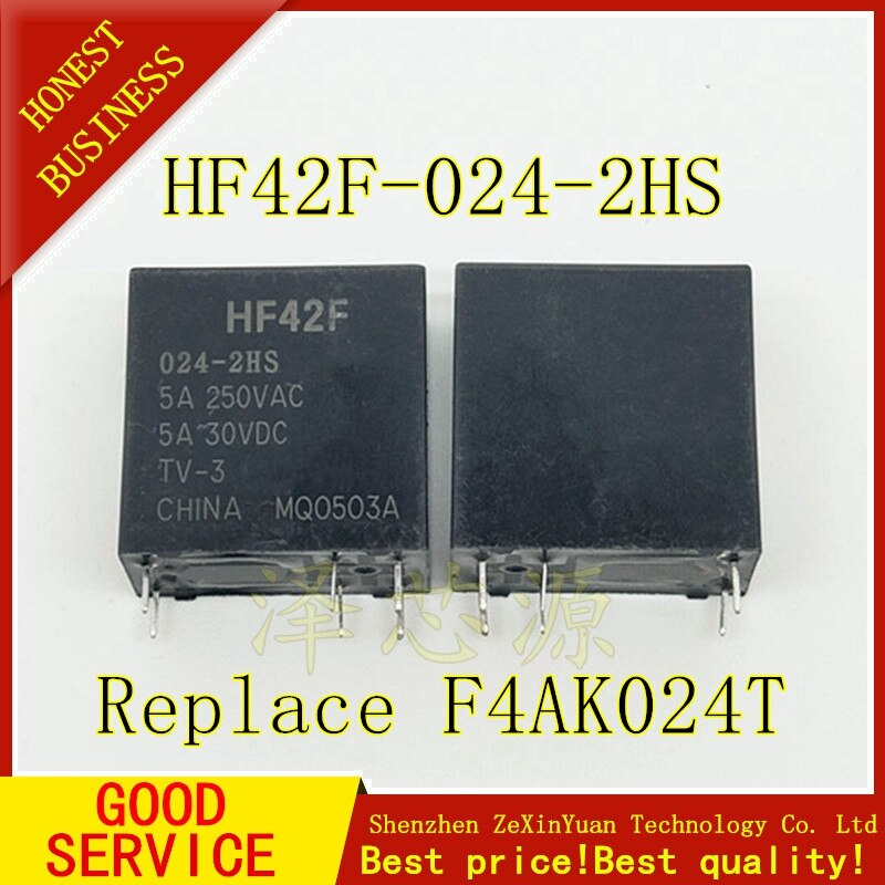 10 unids/lote F4AK024T mejor calidad FTR-F4AK024T F4AK024 enviar sólo HF42F-024-2HS