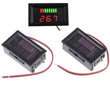 Indicateur de niveau de Charge de batterie au plomb acide 5-15mA 12V compteur de capacité de batterie au Lithium