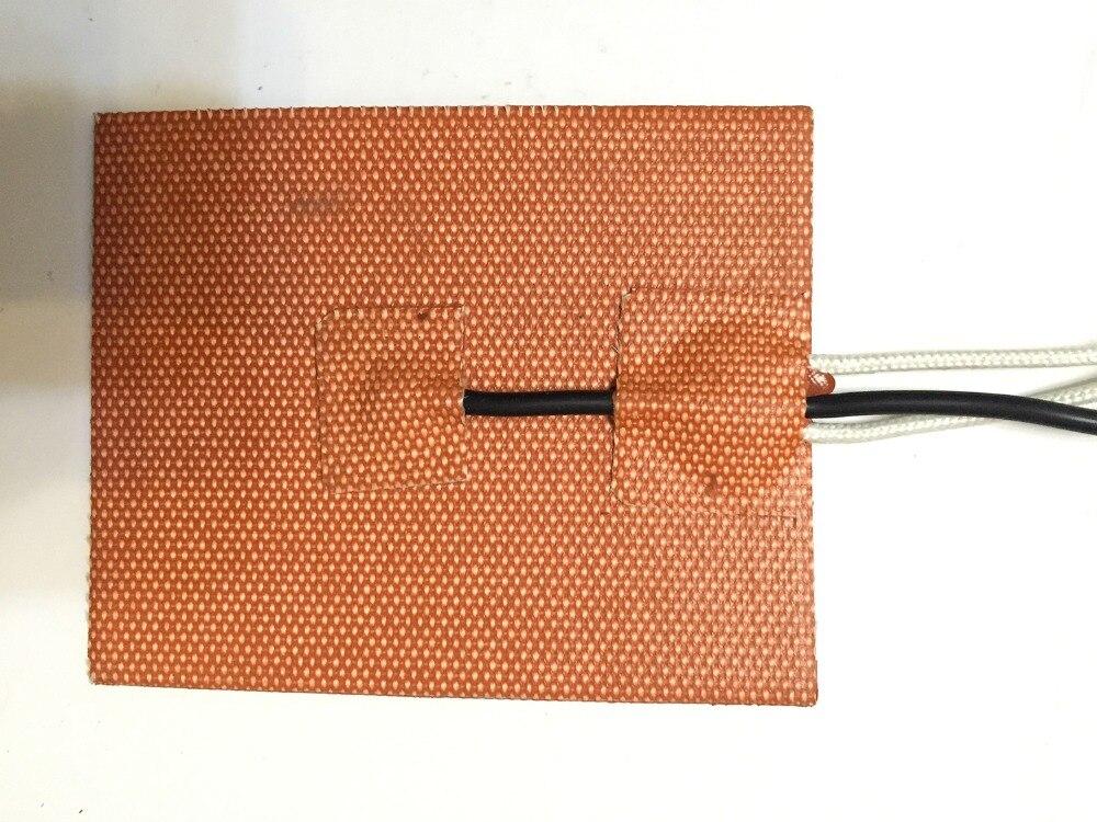 Placa calefactora de silicona para cama calefactora de 200X240mm 500W 220V para impresora 3d, calentador Industrial para impresora de transferencia de calor