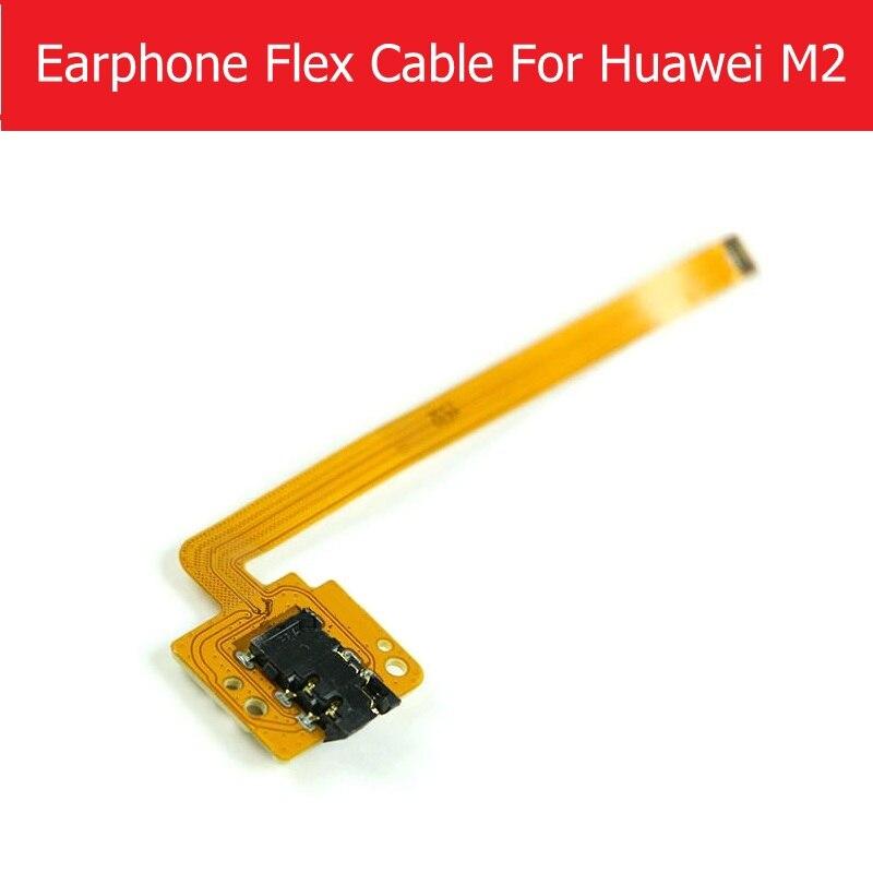 Weeten подлинный гибкий аудиоразъем для Huawei MediaPad M2-801W M2-803L разъем для наушников гибкий кабель для замены, ремонта