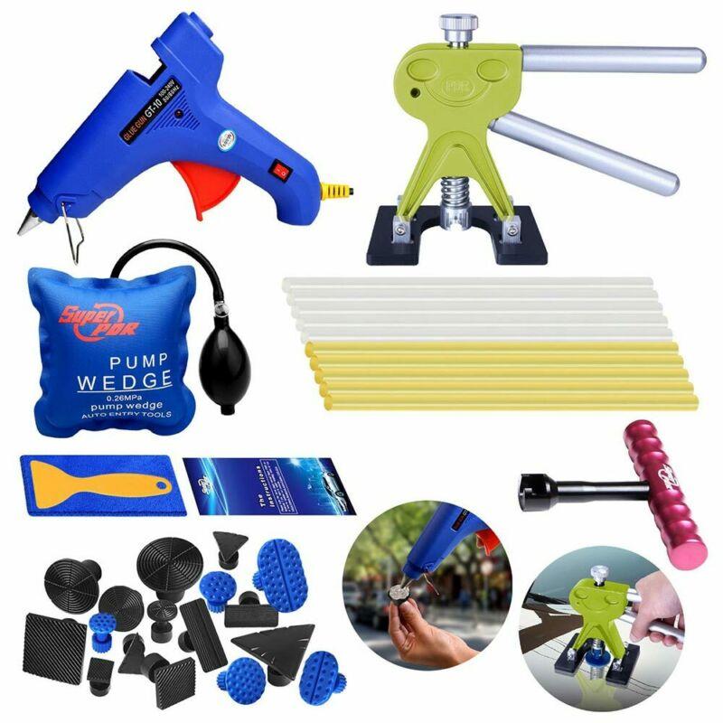 PDR Tools Paintless Dent Repair Dent Lifter-Glue Puller Tab 20W Glue Gun Hail Removal Paintless Car Dent Repair Tools