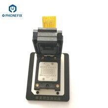 PHONEFIX LGA52 LGA60 NAND Prise Dessai Pour iPhone 4 4s 5 5C 5 6 S 6 P pour iPad 2/3/4 5 6 Air Air2 Mini1 2 3 4 PRO3000S NAND Adaptateur