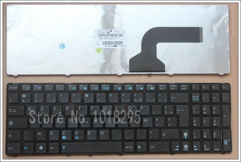 Francés para Asus K52 k53s N61 X61 G60 G51 MP-09Q33SU-528 V111462AS1 0KN0-E02 RU02 04GNV32KRU00-2 V111462AS1 FR teclado del ordenador portátil