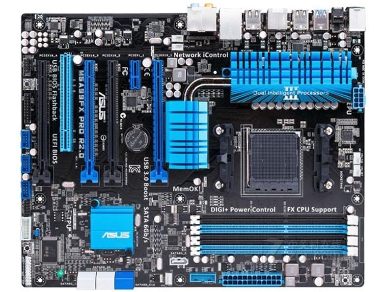 ASUS M5A99FX PRO R2.0 AM3 + DDR3 поддержка FX8350 FX9370 FX9590 используется 90% новый