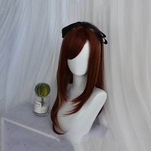 Beautiful Long Straight women Hair Cosplay Wig Synthetic wig Lolita Cosplay Hair Unique Fashion Girl Lolita Wig Cute Hair Party