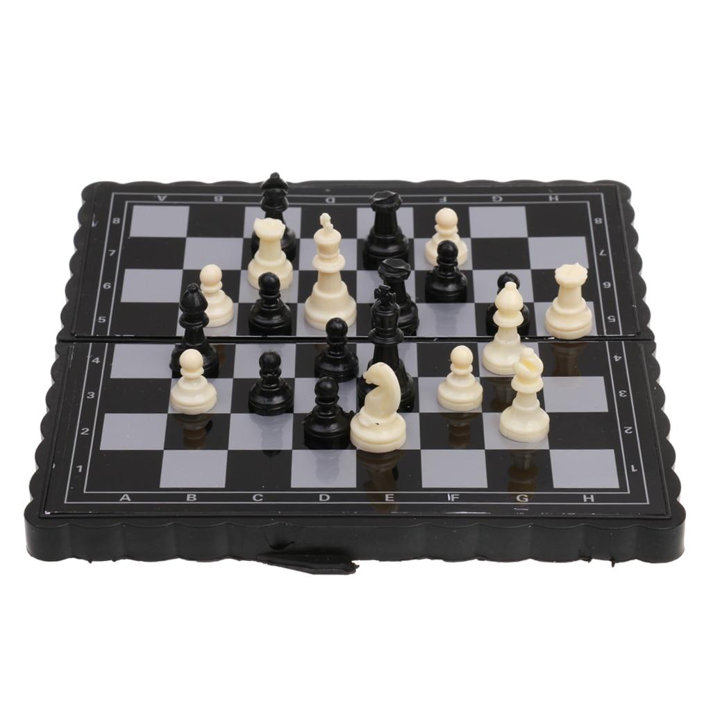 1 шт. античный пластиковый Международный дорожный Шахматный набор мини Портативная Магнитная складная доска Классическая походная игра игрушка детский подарок