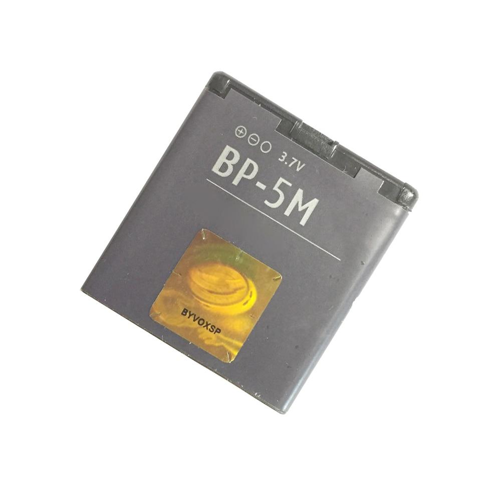 3,7 V 900mAh BP-5M батарея для Nokia 5610,8600 Luna, 7390,6220C, 6500 S, 6500 Slide, 6110N, 6500sl, 5700 XpressMusic, 6110 Navi