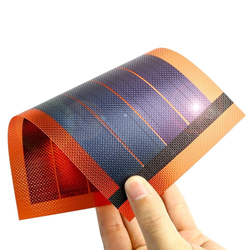 Panel Solar fotovoltaico, Placa Fotovoltaica de película fina y Flexible, portátil, Cargador...