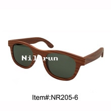 imported red rosewood sunglasses