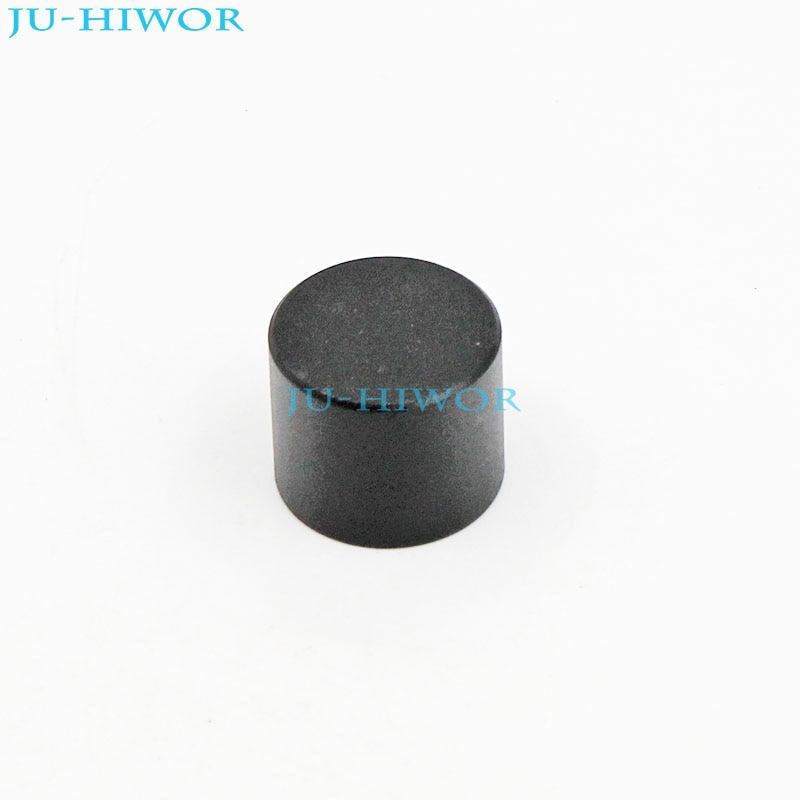 50pcs LXN17x14 Mini Aluminum Alloy Knobs Cap 17x14mm Mounting 6mm Black For Rotary potentiometer Encoder Switch potentiometer encoder knob high quality aluminum alloy knobs 15x16 5mm half shaft 6mm d type switch cap for 360 degrees module