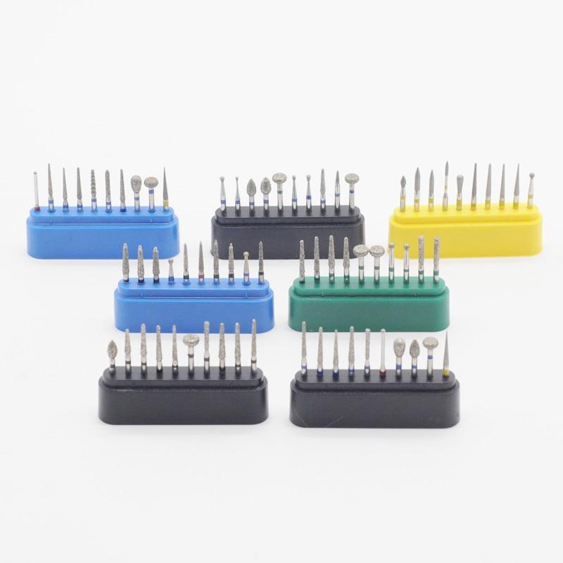 Dental 1,6mm FG Diamant Bur Bohrer Set Fit Hohe Geschwindigkeit Handstücke Polieren 1Set Für Zahnmedizin Labor Ausrüstung