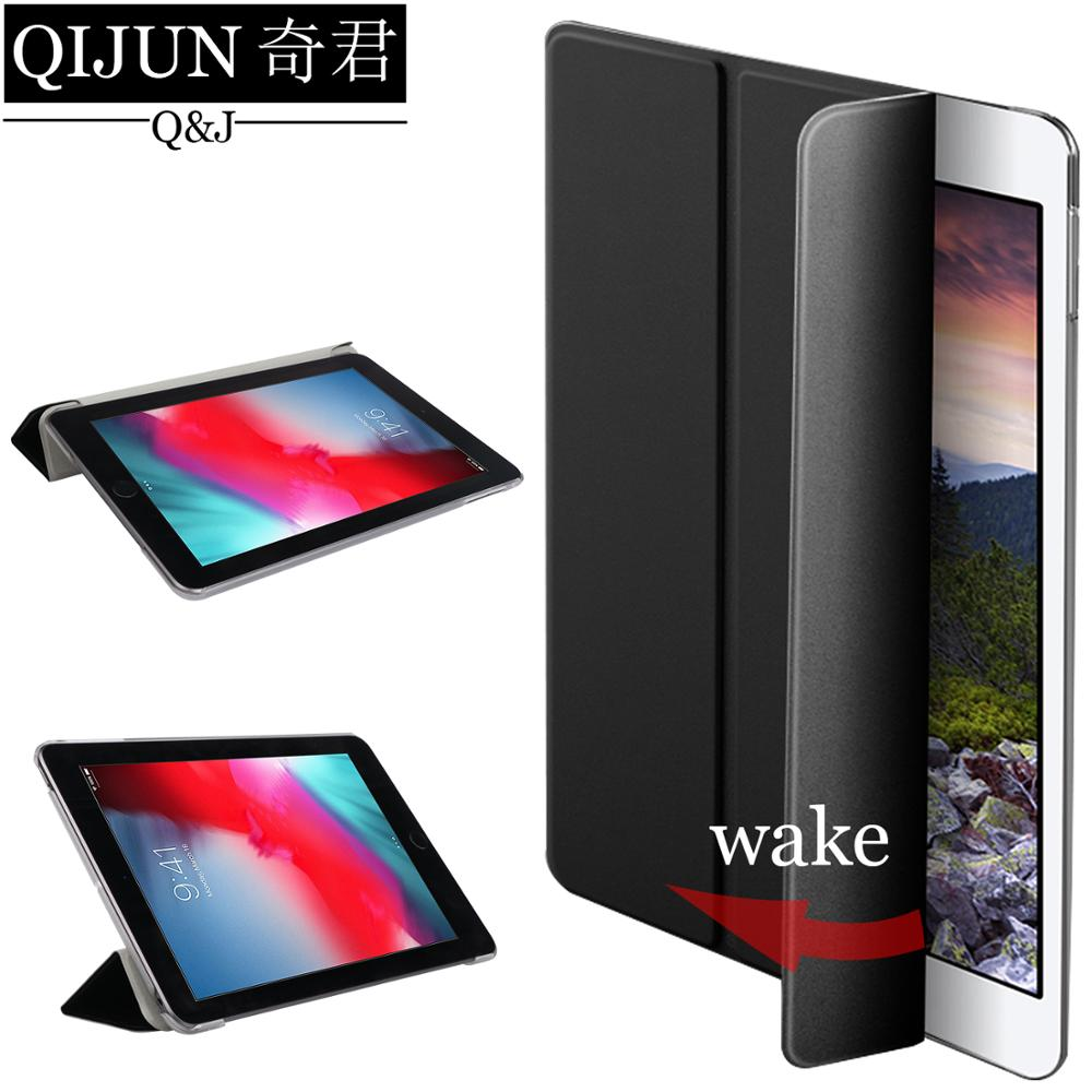 "Funda con tapa para tablet QIJUN para Huawei MediaPad T5 10,1 ""Smart wake UP Sleep funda plegable con soporte para AGS2-W09/W19/L03/L09"