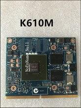 Carte daffichage vidéo dorigine N15M-Q2-B-A1 pour HP ZBOOK 15 17 K610M 1 GB carte graphique 100% TEST