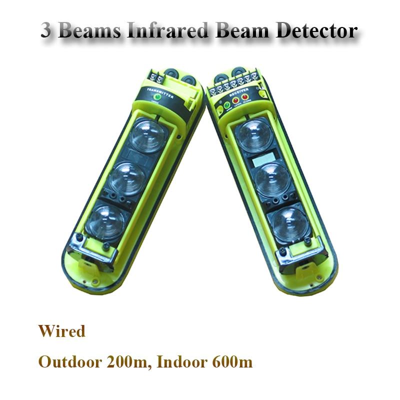 GZGMET-كاشف حركة شعاع ليزر الأشعة تحت الحمراء النشط ، مستشعر إنذار ، شعاع الأشعة تحت الحمراء ، 200 متر ، سعر منخفض
