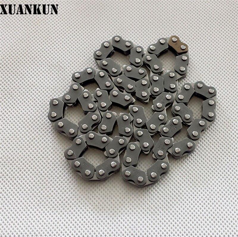 XUANKUN 150 QM150GY-C QM150-3K cadena pequeña del motor cuando la cadena
