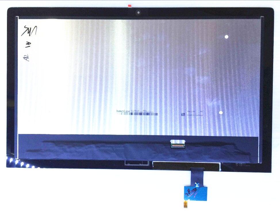 """13,3 """"pantalla LCD de matriz y táctil digitalizador de pantalla para LENOVO yoga tablet 2 Pro-1380L 60070 1380L 1380F tablet de la Asamblea"""