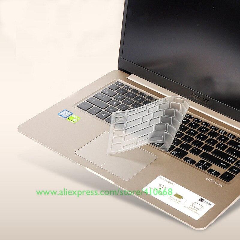 15,6 pulgadas del teclado protector de la cubierta de la piel para Asus vivobook S15 S15UX530 S5100U S5100UA U5100UQ K505B X510UA K505BP9420 de 15 pulgadas