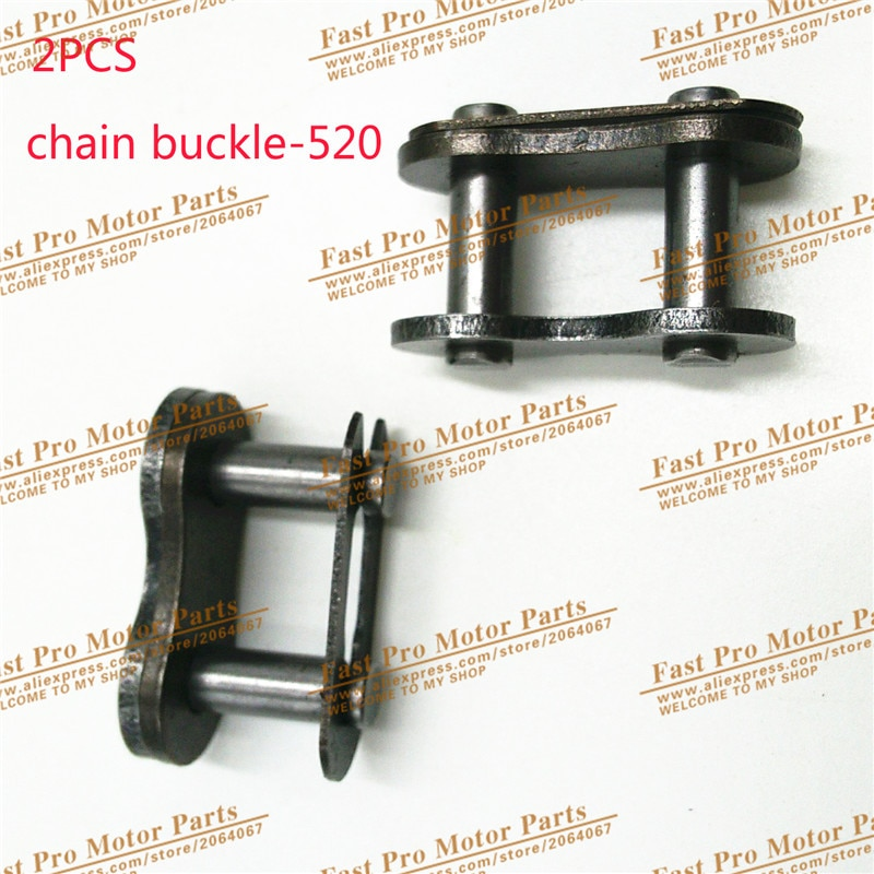 Pince de chaîne de verrouillage   Moto 520 do chaîne joint dhuile, pince de chaîne, boucle de chaîne
