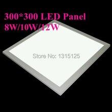 Hot Sale 300x300 Led Panel Lights 12w Square ceiling light  Bulb for Living Room Kitchen lighting Ac85v-265v  free Shipping