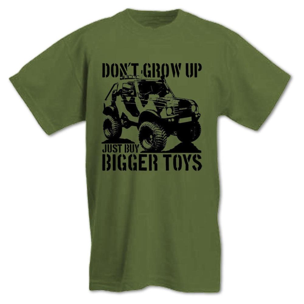 Envío Gratis, 2017, camiseta de The Grow Up, Buy Bigger Toys, Parody para hombre Off Road Got Mud 4x4