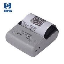 Portable 80mm thermal android pos pocket printer HS-E30UA usb port impressora termica bill printing machine provide free SDK