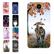 Leaf Lovers Art Paint TPU Soft Case Cover for Prestigio Muze B7 PSP7511DUO Shell Bag Housing