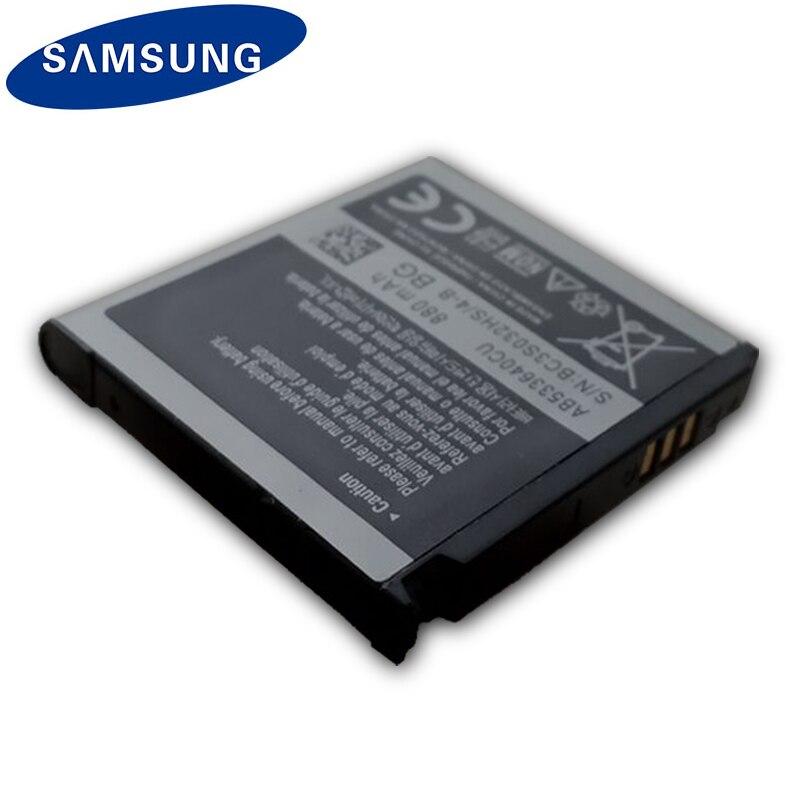 Original SAMSUNG Battery AB533640CC AB533640CU For Samsung S3600C GT-S3600i S6888 S3710 S3930C S3601 S3601C S5520 S569 880mAh enlarge