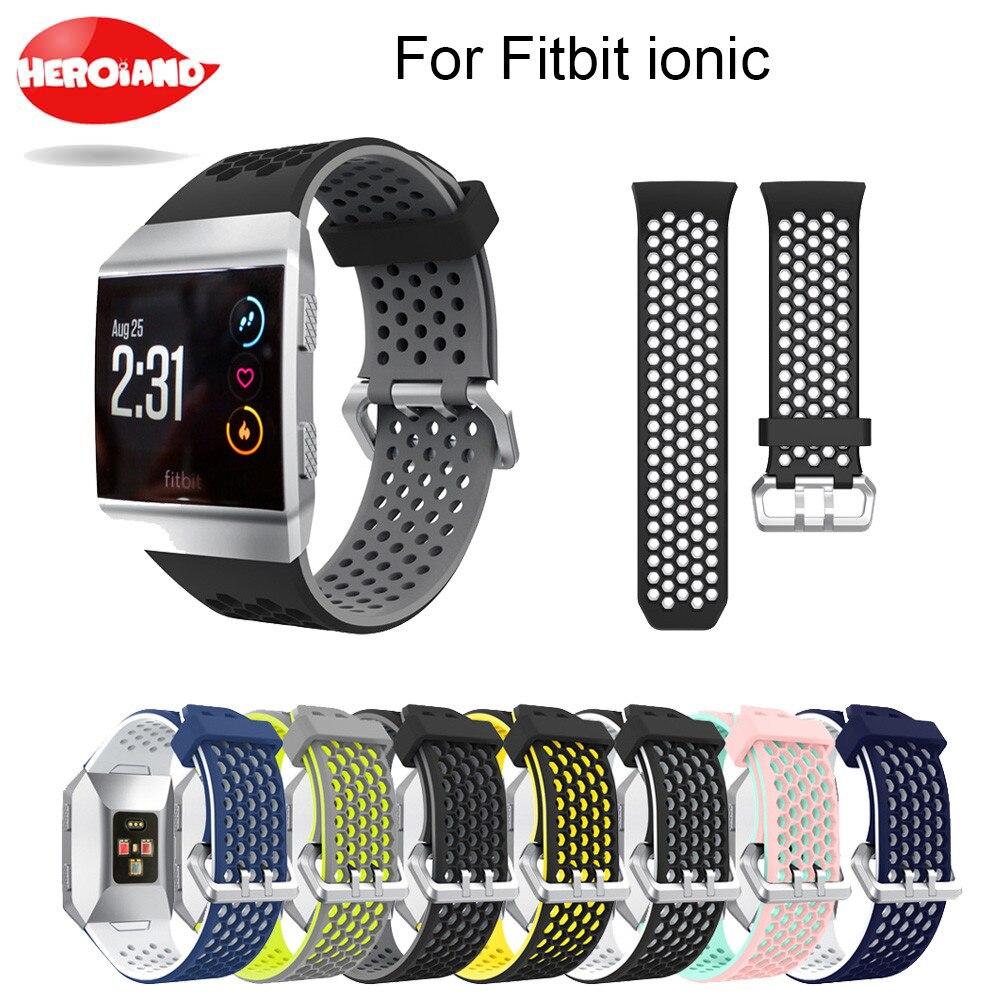 Легкие силиконовые спортивные часы с вентиляцией, браслет для фитнес-браслета, ионные Смарт-часы, регулируемый сменный Браслет, аксессуары