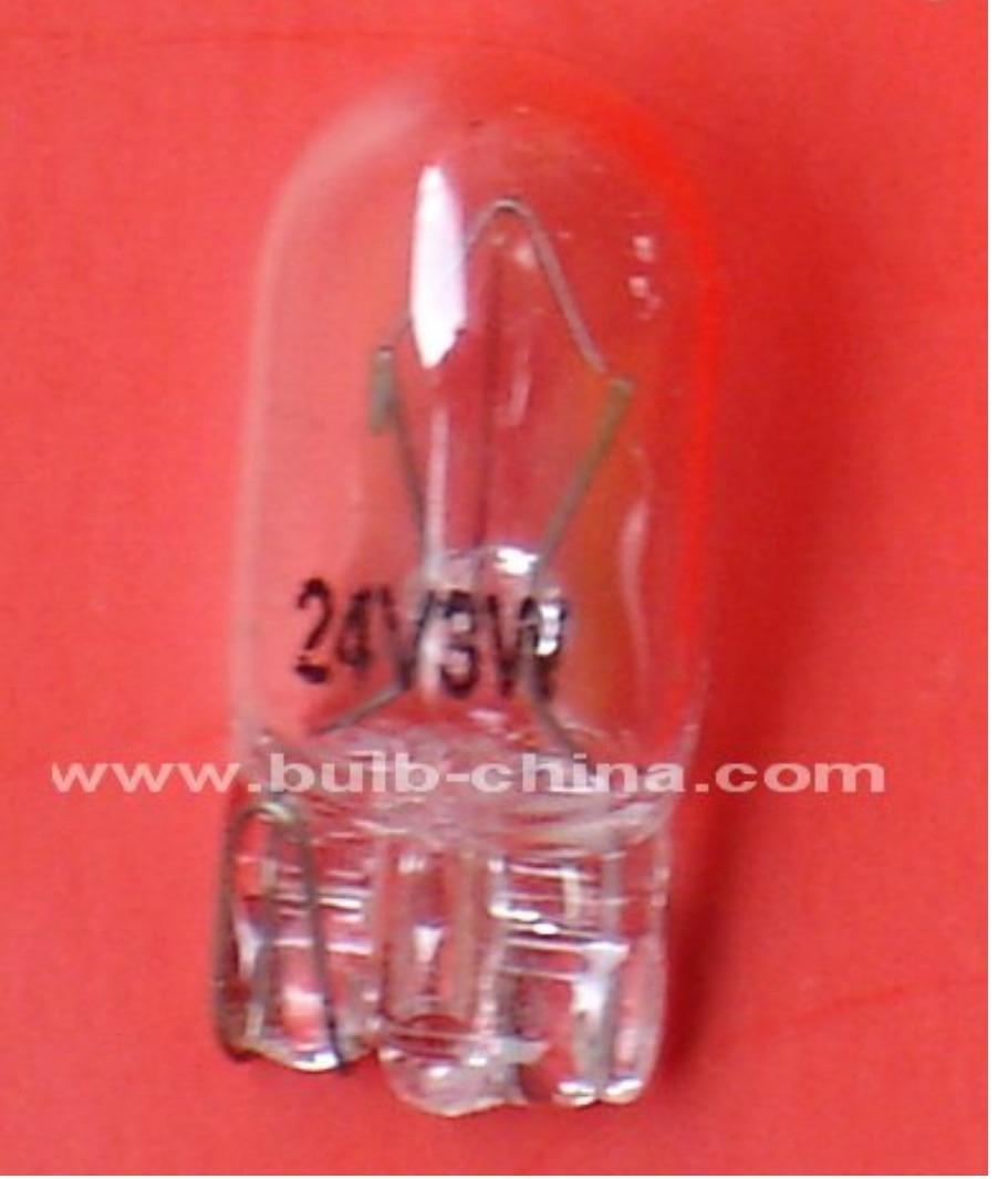 مصباح هالوجين Ccc Ce 200 قطعة ، شحن مجاني ، 24 فولت ، 3 واط ، T10 ، B176