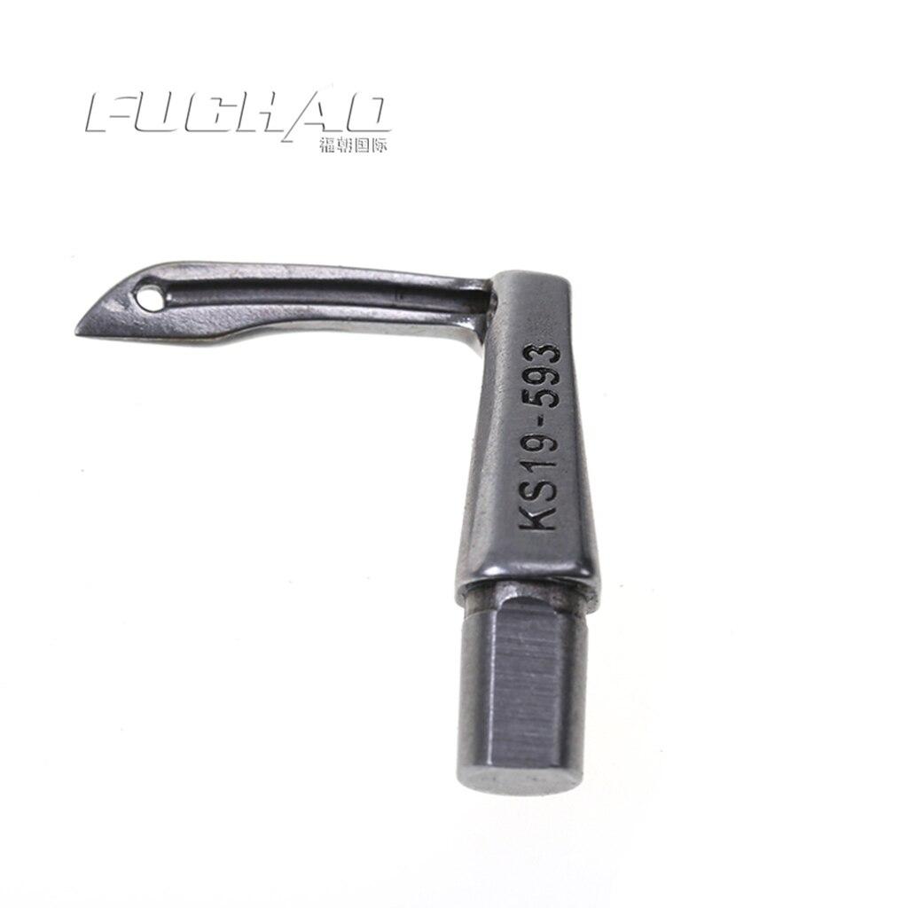 19-593 aguja curva looper KANSAI especial 1509 looper 1508P cuatro agujas adaptadas para piezas de máquina de coser de seis agujas