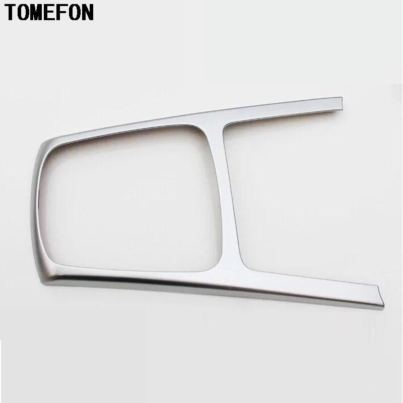 TOMEFON para Kia Rio 4 engranajes fama cubierta Interior del Panel círculo cromados coche-estilo de molduras de pieza/accesorio 2017