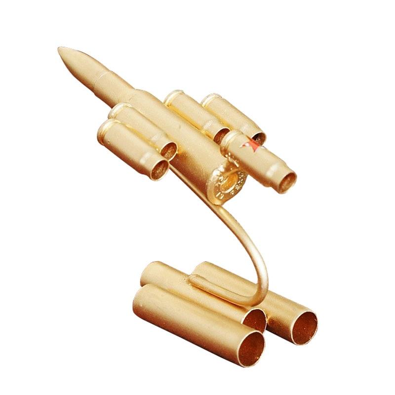 Modelo militar de Metal bala juguetes militares escritorio figuras de decoración del hogar miniaturas bala artesanía muebles artículos