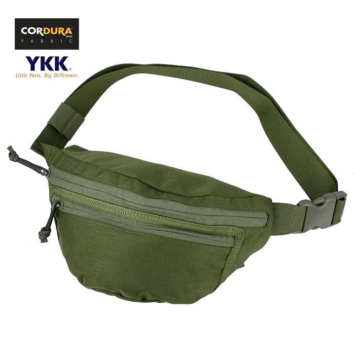 TMC Cordura Tactical Compact 2X Fanny Pack riñonera para hombres paquete OD WG(SKU051039)