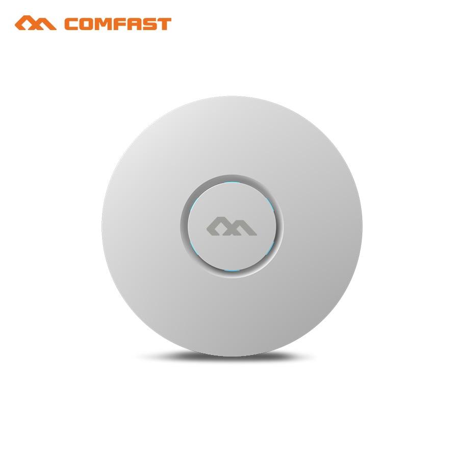COMFAST CF-E320V2 داخلي لاسلكي 300M السقف AP Openwrt واي فاي نقطة الوصول AP 6dbi هوائي 48vpoe واي فاي إشارة مكبر للصوت