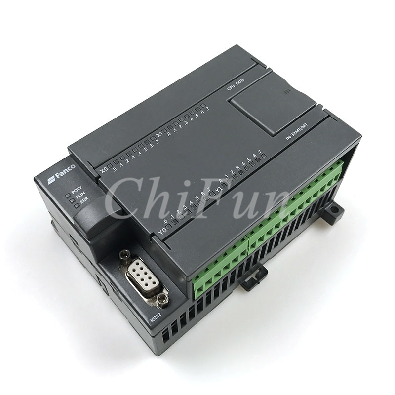 Placa de control Industrial PLC FX1N 32MR DC24V 6W 16 entrada 16 salida