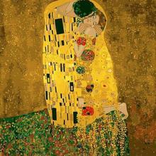2058 Gustav Klimt Der Kuss-malen Nach Zahlen Kits für Erwachsene DIY