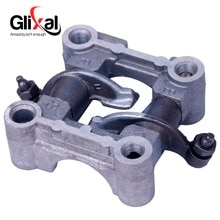 Glixal GY6 49cc 50cc Scooter Bromfiets ATV Cam shaft Houder beugel tuimelaar assy voor 139QMB 139QMA Motor (64mm & 69mm Valve)