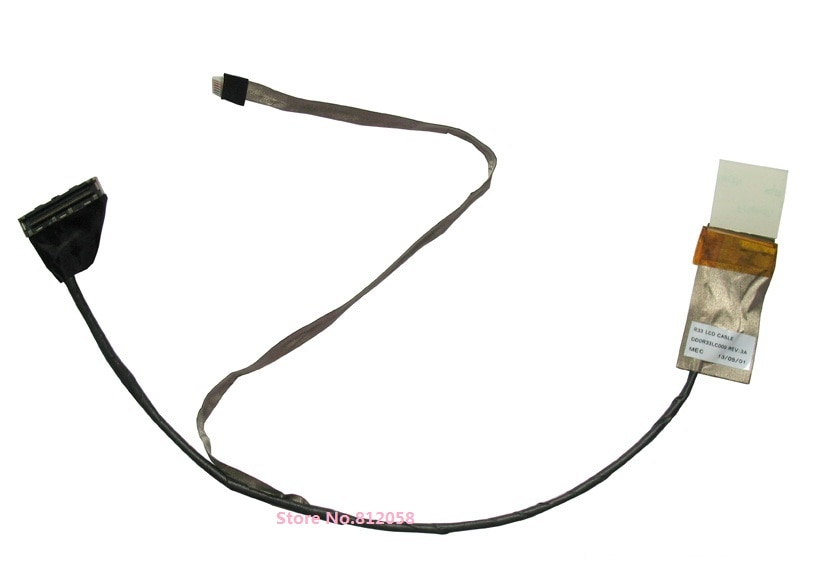 WZSM NEW LCD Cable For HP G4-2000 G4-2044TX G4-2045TX G4-2143TX laptop LCD Video Cable P/N DD0R33LC0