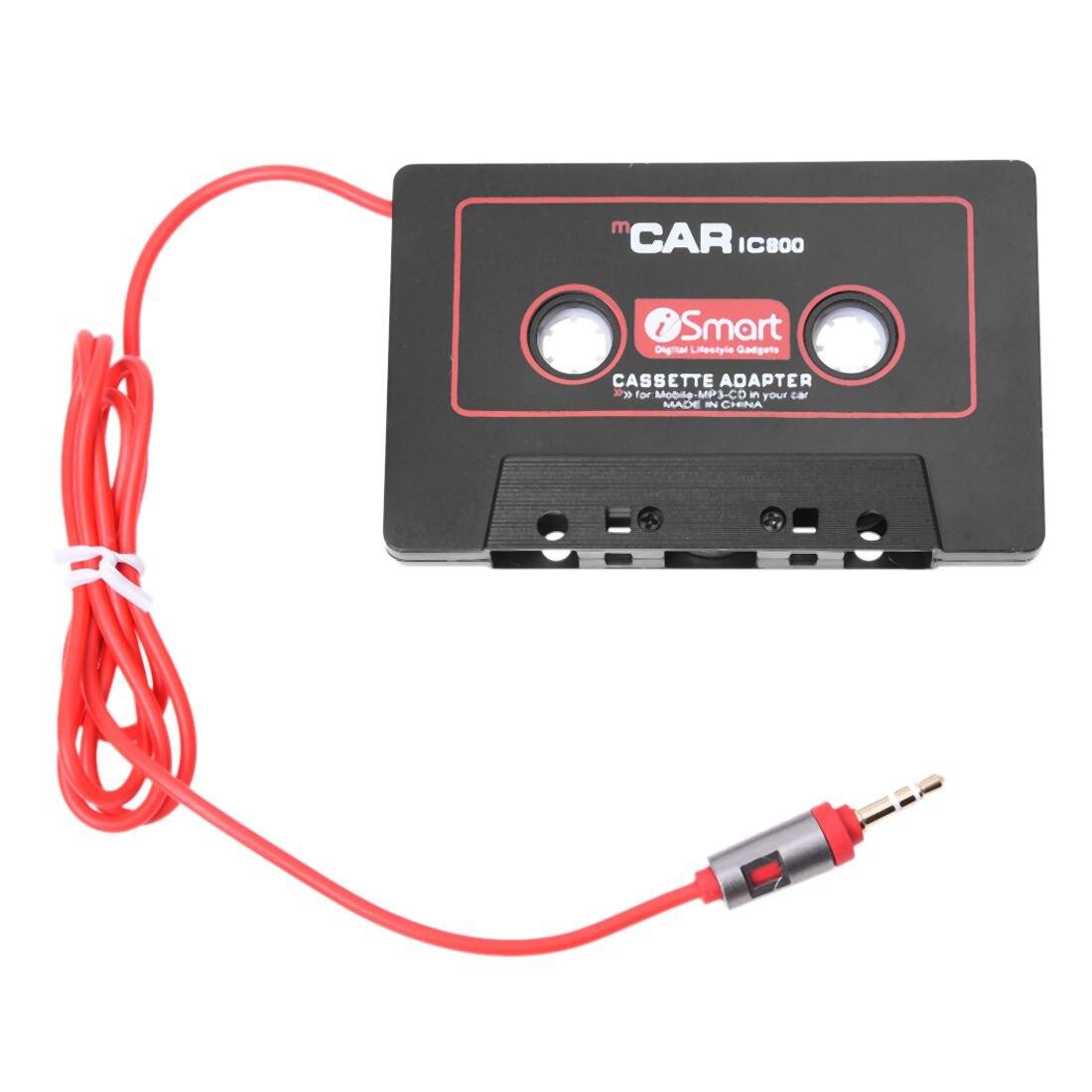 Ttkk sistemas de áudio do carro adaptador de fita cassete estéreo do carro para o telefone móvel mp3 aux cd player 3.5mm jack para o caminhão do carro van (