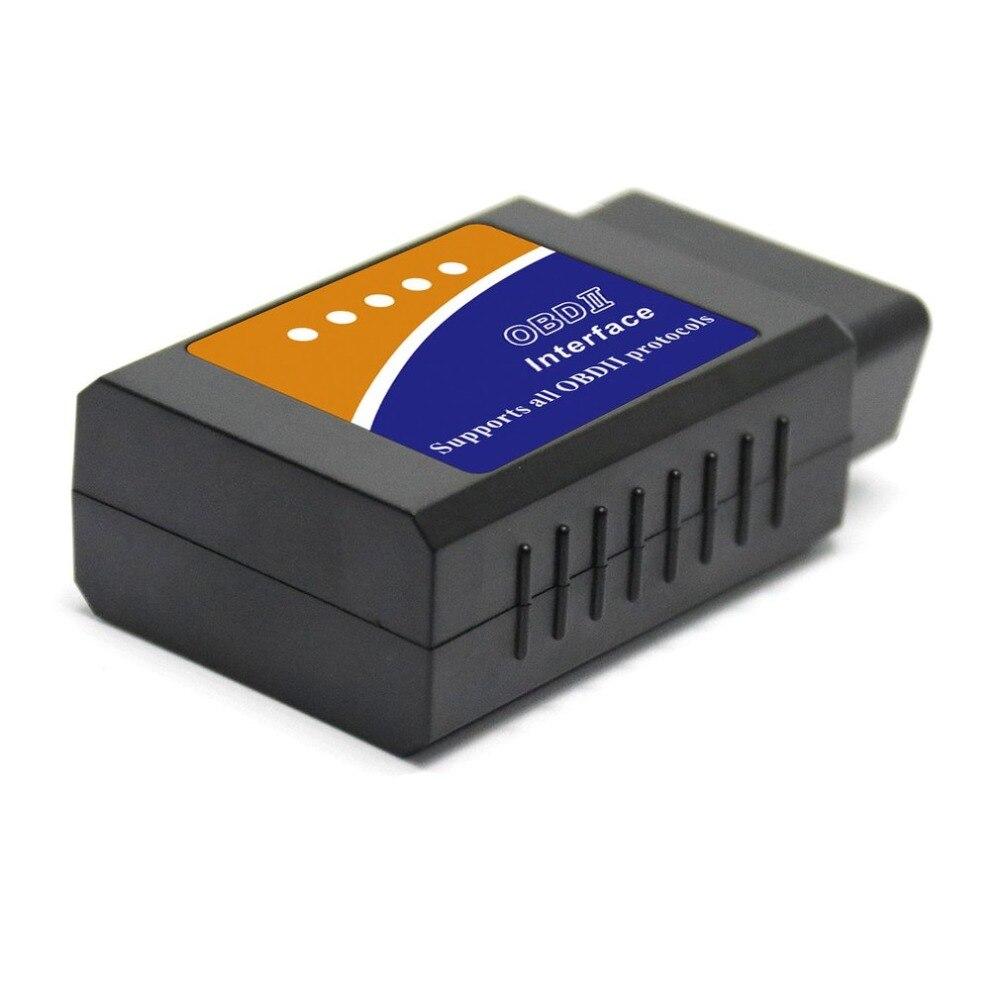 ELM327 USB OBDII OBD2 V1.5 escáner de interfaz automóviles herramienta de escaneo de coche Cable de diagnóstico automático Obd2 escáner con CD
