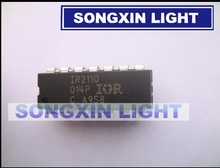 50PCS/LOT IR2110 IR2110PBF DIP14 MOSFET power/IGBT driver chip high low 100% new original