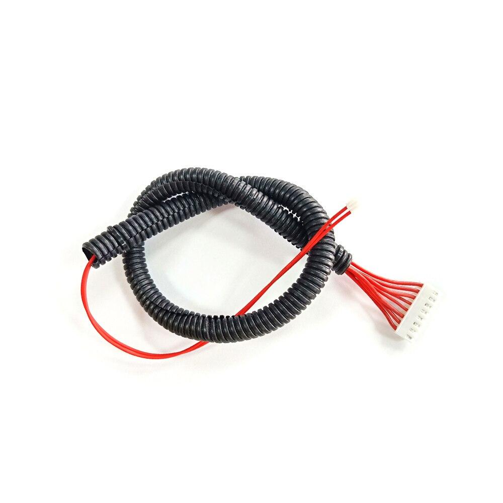 Mais longo impressora 3d lk4 aquecida cama cabo compatível com alfawise u30 heat bed cabo