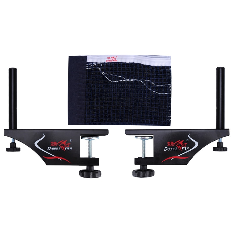 professional metal table tennis table net post ping pong table post net table tennis equipment body building fitness strength High Quality Double Fish Net Set XW-923 Professional Metal Table Tennis Net Post&Net Ping pong Table Post for recreation&competi