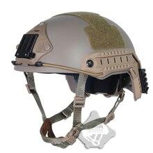 FMA tactique balistique escarmouche Airsoft chasse Wargame protection ABS arc haute coupe casque pour airsoft paintball TB825