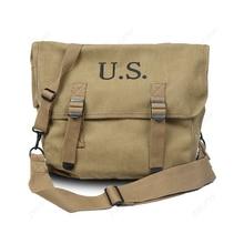Seconde guerre mondiale WW2 US Army M1936 Musette Field M36 sac à dos haverbag sac kaki-