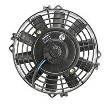 Ventilateur électrique universel à condenseur électrique   Climatisation noire, ventilateur de refroidissement universel pour rue/Rat/tige chaude, voiture musculaire classique 8 24V