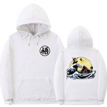 Mehrere stile dragon ball hoodie sweatshirt männer Print Schildkröte Goku poleron hombre Streetwear sudadera dragon ball pullover